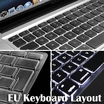 Amazon.com: GMYLE (TM) – carcasa de TPU Protector de teclado ...