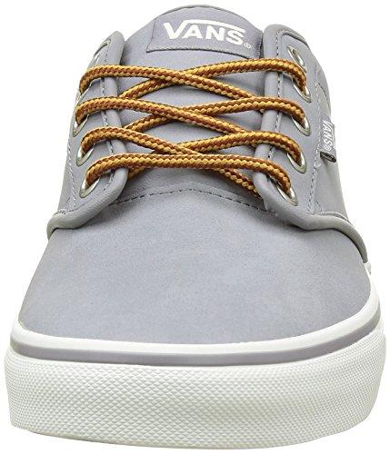 Vans Atwood, Zapatillas para Hombre Gris (Leather)