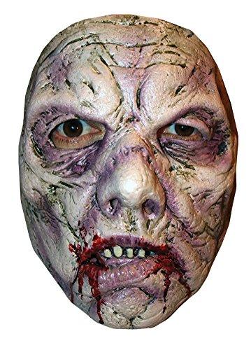 Captain Costume Clown Spaulding (Bruce Spaulding Fuller Rotted Zombie 1 Horror Latex Adult Halloween Costume)