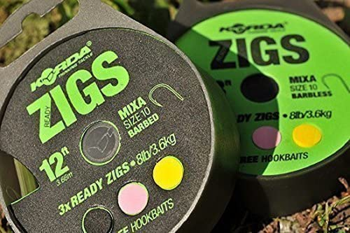 Korda Ready Tied Zigs Various Sizes