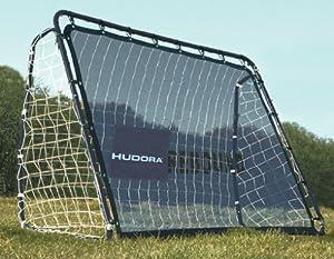 HUDORA 76099 - Fußballtor Rebound mit Reboundset
