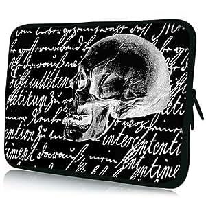 "Skull Pattern 7""/10""/13"" Laptop Sleeve Case for MacBook Air Pro/Ipad Mini/Galaxy Tab2/Sony/Google Nexus 18065 , 10"""
