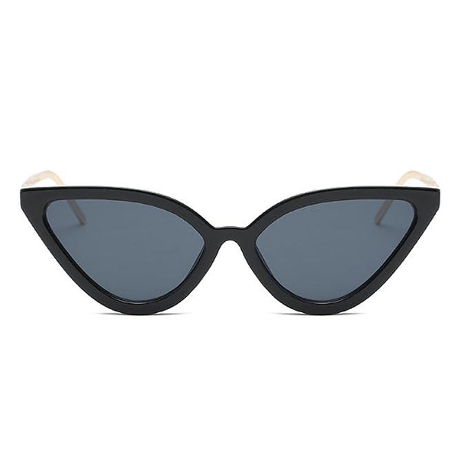 DGHFBD Gafas de sol Cat Eye Gafas de sol Retro Vintage Gafas ...