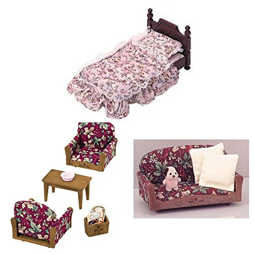 Three Furniture Bed Sets Armchair