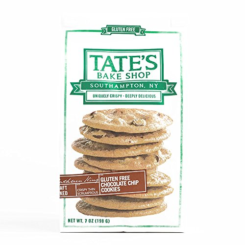 Tate's Bake Shop Gluten Free Chocolate Chip Cookies 7 oz each (1 Item Per Order, not per case) -