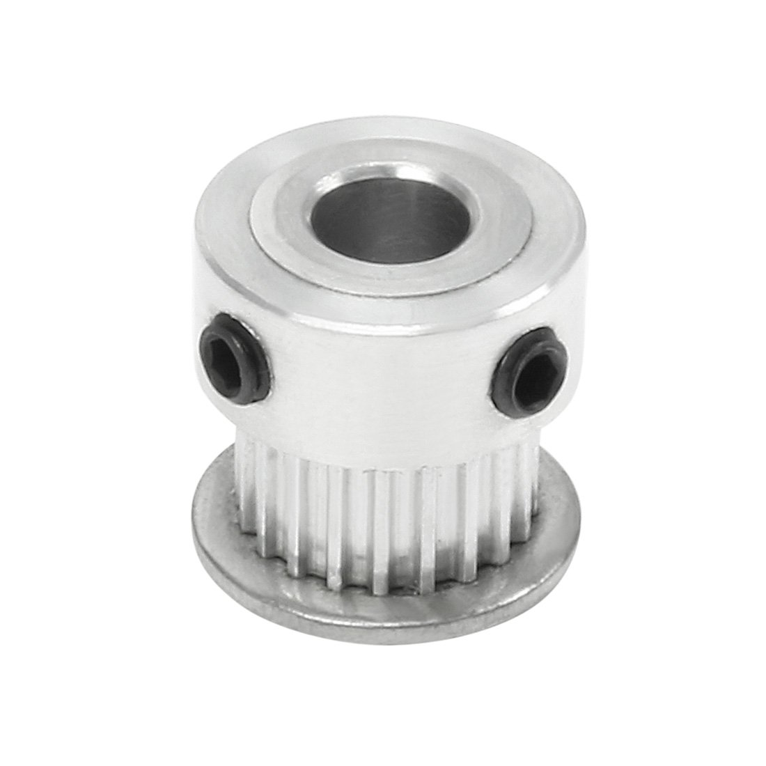 sourcingmap XL60 60 Teeth 12mm Bore Dia Double Flanged Motor Drive Timing Pulley