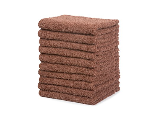 (Alurri Washcloth Towel Set, 12-Pack, Extra Soft Cotton Fingertip Towels, Highly Absorbent, Machine Washable, 13