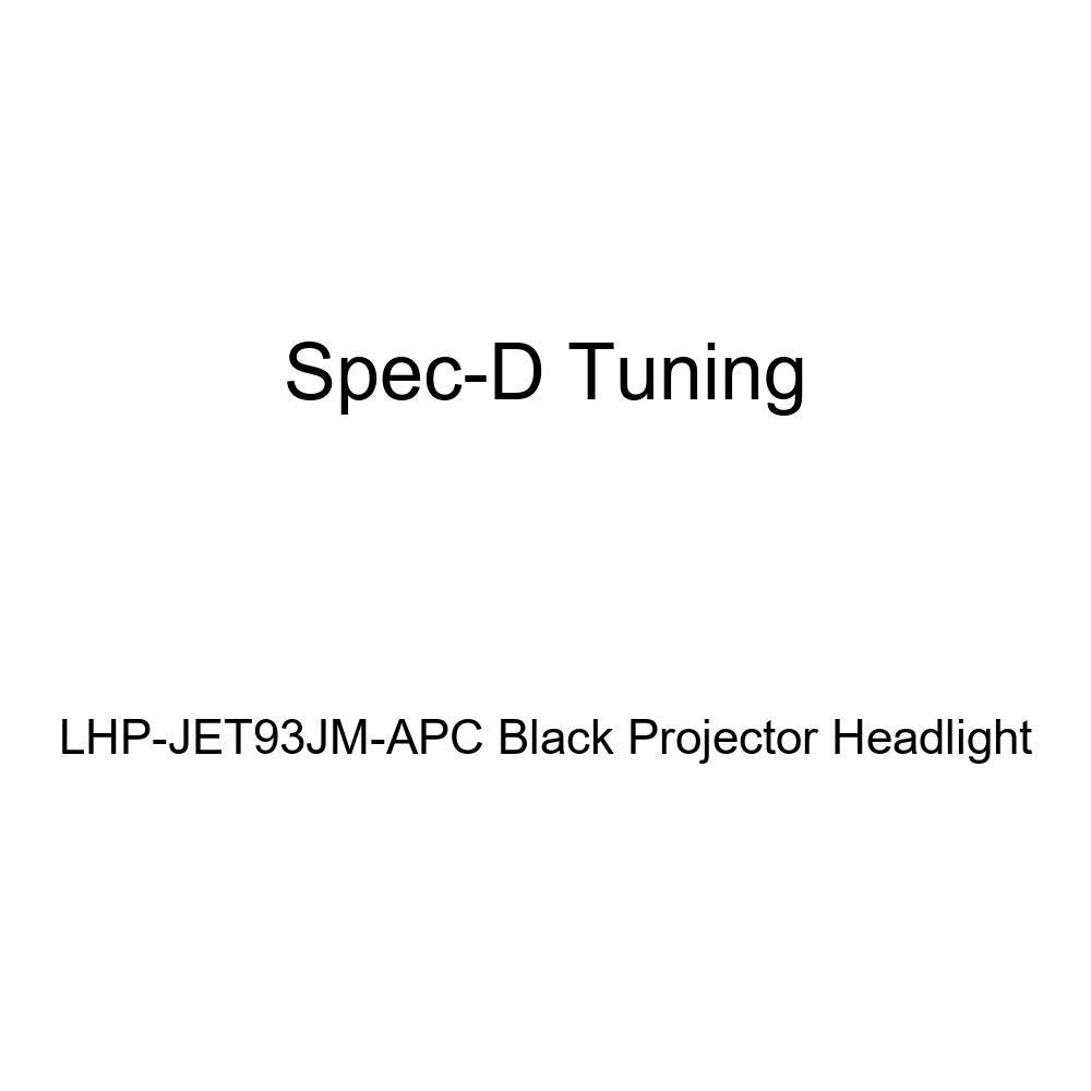 Spec-D Tuning LHP-JET93JM-APC Black Projector Headlight