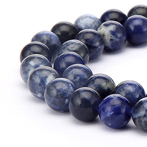 BRCbeads Sodalite Natural Gemstone Crystal