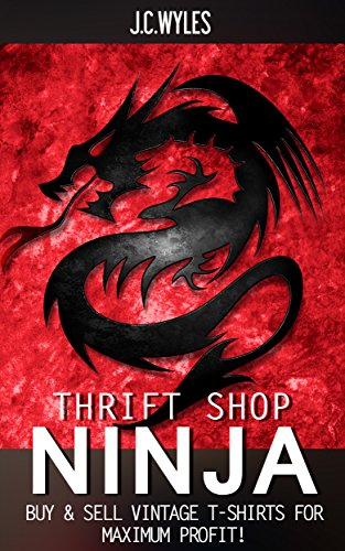 Amazon.com: THRIFT SHOP NINJA: Buy & Sell Vintage T-Shirts ...