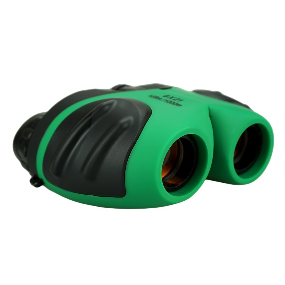 Toys for 3-12 Year Old Boys, TOPTOY Binoculars for bird watching Gifts for 3-12 year old girls Toys for Boys Age 3-12 Green TTUSTB01