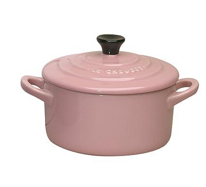 Le Creuset Mini cocotte gres, 10 centímetros, color rosa