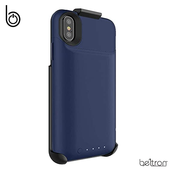 huge selection of c8f4b f4e10 Amazon.com: Belt Clip Holster Compatible with Mophie Juice Pack Air ...