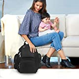Backpack Diaper Bag, Waterproof Baby Travel Bag for