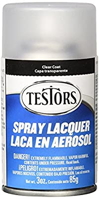 Testors. Spray Lacquer 3oz, Clear Coat