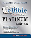 EBible Platinum Edition, Nelson Reference Staff and Thomas Nelson Publishing Staff, 0785250247