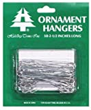 Holiday Trims Ornament Hooks Giant Silver