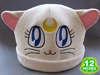 Sailor Moon: White Artemis Cat Costume Hat