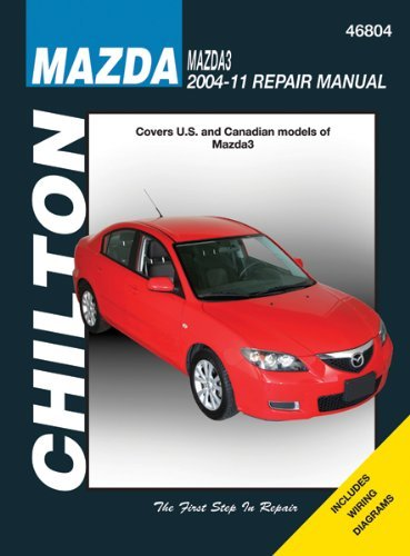 amazon com chilton chi46804 mazda 3 04 11 automotive rh amazon com mazda 3 repair manual mazda 3 repair manual 2014