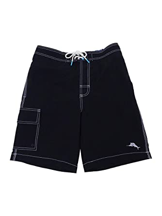 928273d29a Tommy Bahama Men's Baja Beach Board Short (S, Black)