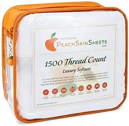 peachskinsheets affordable bedding
