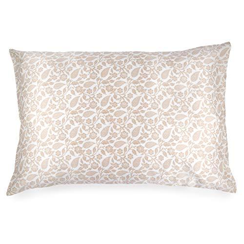 Paisley Copper (Spasilk 100% Silk Pillowcase for Facial Beauty and Hair, Queen 20