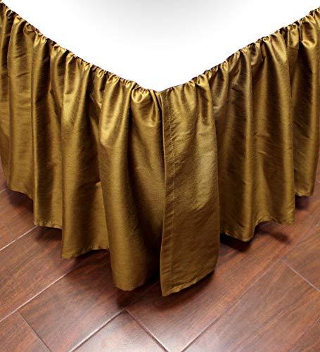 Austin Horn Classics Verona Red Luxury Bed Skirt California King (Bedskirt Austin)