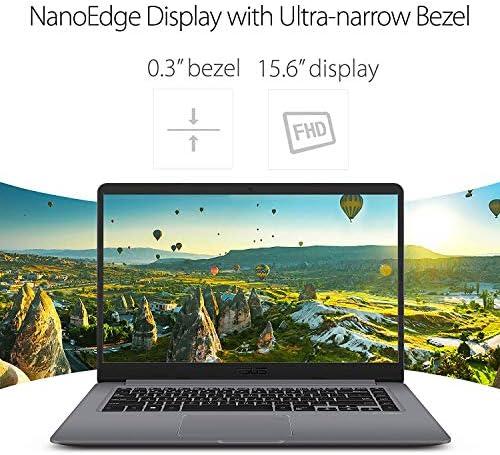 """2019 ASUS VivoBook F510QA 15.6"""" WideView FHD Laptop Computer, AMD Quad-Core A12-9720P up to 3.6GHz, 4GB DDR4 RAM, 128GB SSD , USB 3.0, 802.11ac WiFi, HDMI, Windows 10 510NFaGG5vL"""