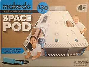 Makedo Cardboard Construction Space Pod