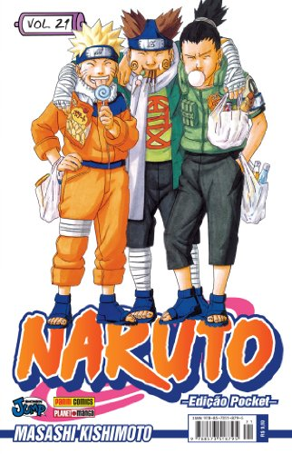 Naruto Pocket - Volume 21