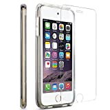 Ipod Touch Case 6th & 5th Generation Case, (Clear) includes [Tempered Glass Screen Protector] Shock-Absorbing Bumper