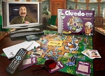 Hasbro Parker - DVD Juego de Mesa Cluedo [Importado de Alemania]: Amazon.es: Juguetes y juegos
