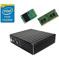 Jetway JBC420U591W Intel Braswell N3160 NUC Fanless PC w/ 4GB, 64GB mSATA SSD