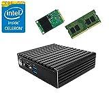 Jetway JBC420U591W Intel Braswell N3160 NUC Fanless PC w/ 8GB, 128GB mSATA SSD