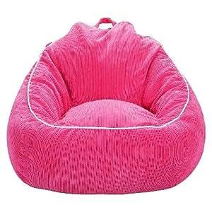 xl corduroy bean bag chair pillowfort pink home kitchen. Black Bedroom Furniture Sets. Home Design Ideas