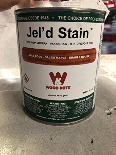 Wood Kote Jel'd Stain (Salem Maple) ()