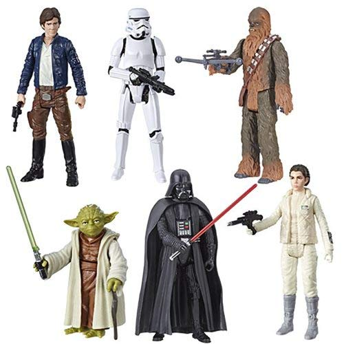 (Star Wars Galaxy of Adventure Hasbro Hasbro Story in a Box 3 3/4-Inch Action Figures Wave 2 Set of 6)