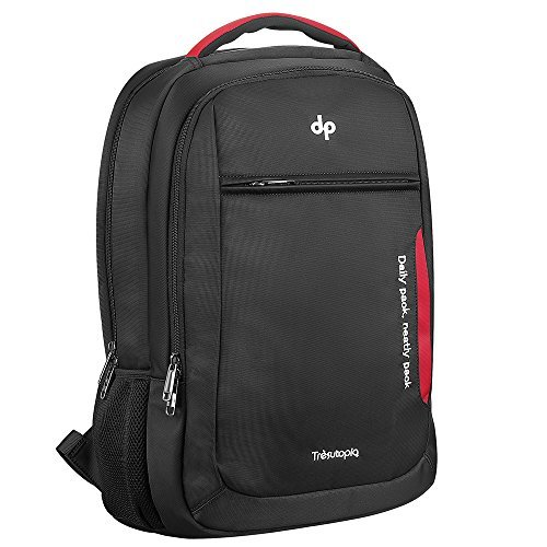 Trèsutopia DP Backpack, Waterproof, Dual-Use Business and Leisure Travel Bag for Laptop Up to 17 inch