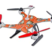Skin For Blade 350 QX3 Drone – Trout Collage | MightySkins Protective, Durable, and Unique Vinyl Decal wrap cover | Easy To Apply, Remove, and Change Styles | Made in the USA
