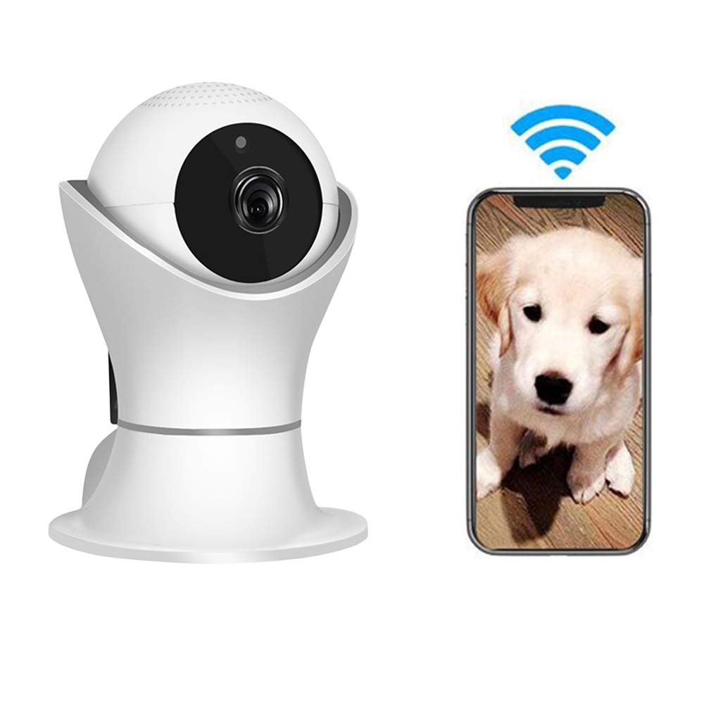 LEERAIN Pet Camera,Wireless Dog Monitor, Cat Ip Camera, Surveilance,1080p Hd For Baby dog cat With Motion Detection Infrared Night Vision Two-way Audio