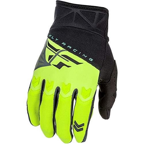 (Fly Racing 2018 Youth F-16 Gloves (LARGE) (BLACK/HI-VIZ))