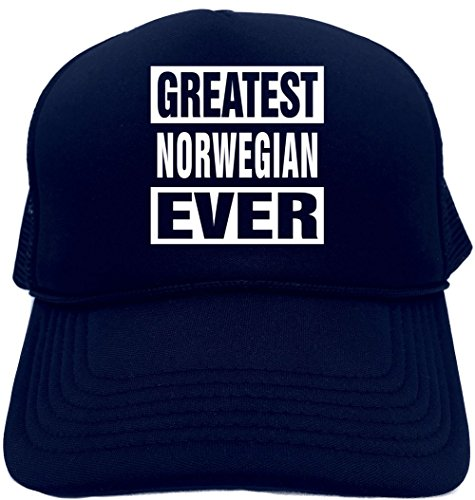(Signature Depot Funny Trucker Hat (Greatest Norwegian Ever) Unisex Adult Foam Cap )