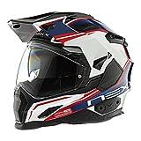 Nexx XD1 Voyager White Blue Helmet size X-Large