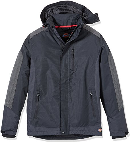 Mens Jacket Dickies Workwear Black Jw7007b Thornley OdPw68Pq