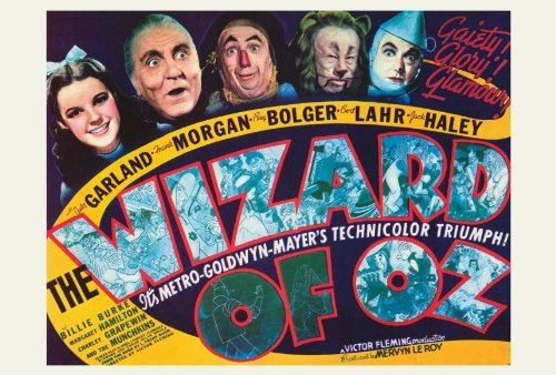 The Wizard of Oz POSTER Movie (27 x 40 Inches - 69cm x 102cm) (1939) (Style F) (X Poster 40 Of 27 Wizard Oz)