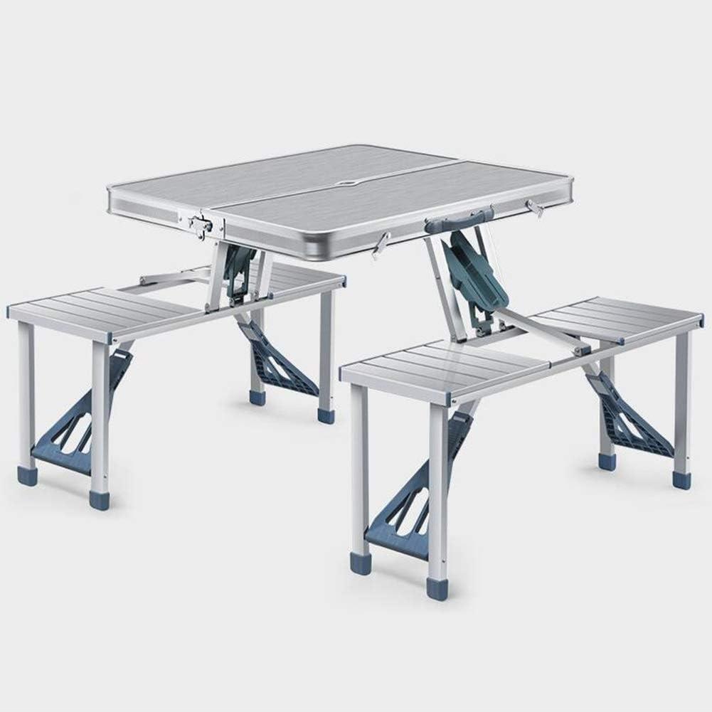 Mesas Taburetes Tablas Aluminio Plegables Cámping Al Aire Libre ...