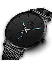 Men's Watches Fashion Simple Watches Ultra Thin...