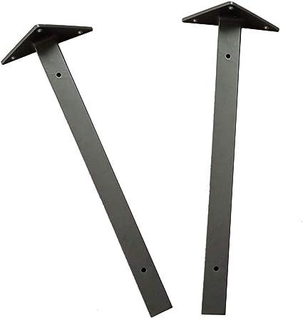 2Regalträger Schwerlastträger klappbar Regalhalter Regalwinkel mit Schrauben