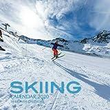 Skiing Calendar 2020: 16 Month Calendar