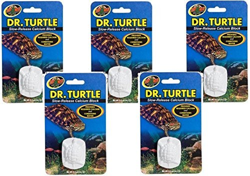 (Pack of 5, Slow Release Calcium Block for)